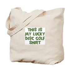 Lucky Disc Golf Tote Bag