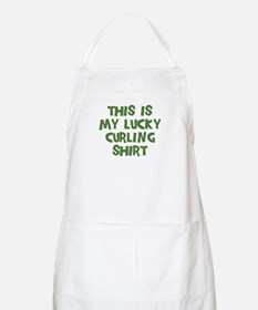 Lucky Curling BBQ Apron