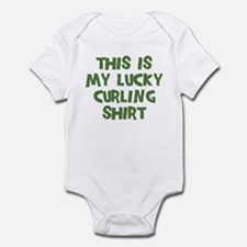 Lucky Curling Infant Bodysuit