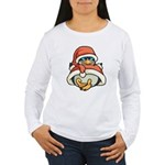 Christmas Penguin Women's Long Sleeve T-Shirt