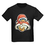Christmas Penguin Kids Dark T-Shirt