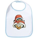 Christmas Penguin Bib