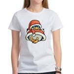 Christmas Penguin Women's T-Shirt