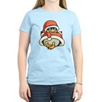Christmas Penguin Women's Light T-Shirt