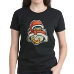 Christmas Penguin Women's Dark T-Shirt