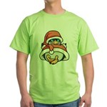 Christmas Penguin Green T-Shirt