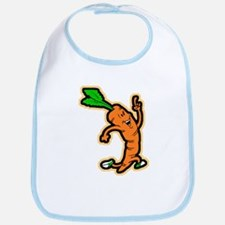Dancing Carrot Bib