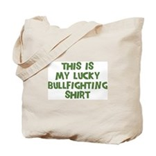 Lucky Bullfighting Tote Bag