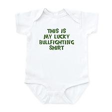 Lucky Bullfighting Infant Bodysuit