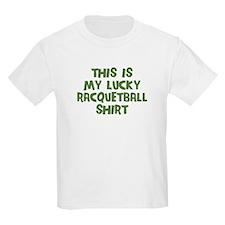 Lucky Racquetball T-Shirt