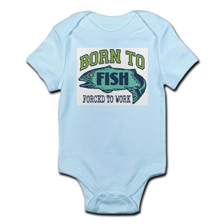 Fishing Infant Bodysuit