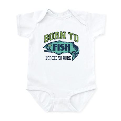 Fishing Infant Bodysuit