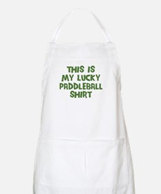 Lucky Paddleball BBQ Apron