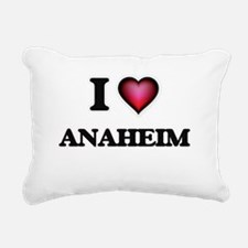 I love Anaheim Californi Rectangular Canvas Pillow