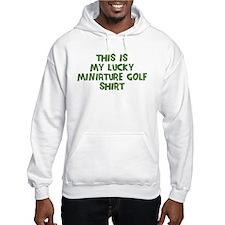 Lucky Miniature Golf Hoodie