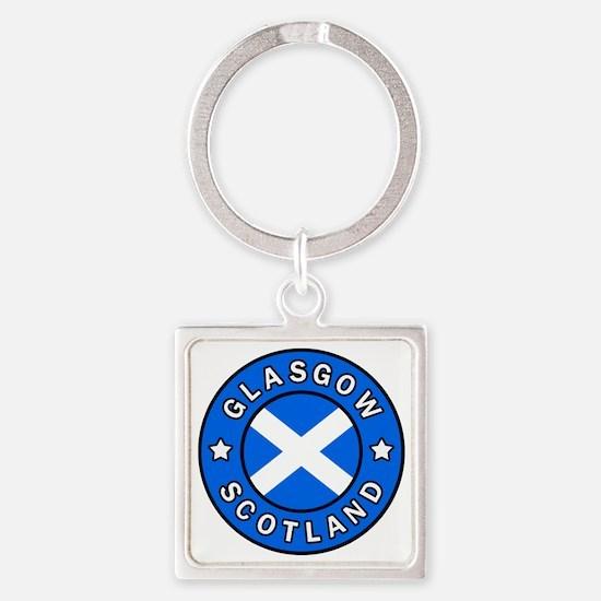 Cute Glasgow Square Keychain