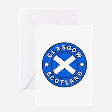 Glasgow Scotland Greeting Cards