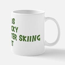 Lucky Barefoot Water Skiing Mug