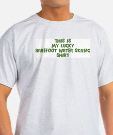 Lucky Barefoot Water Skiing T-Shirt