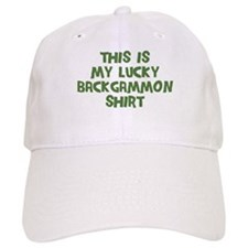 Lucky Backgammon Baseball Cap