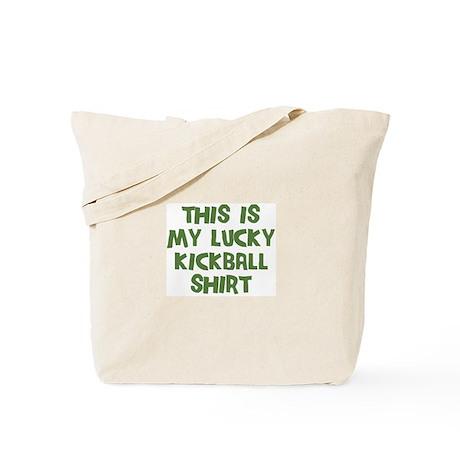 Lucky Kickball Tote Bag