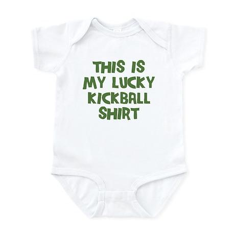 Lucky Kickball Infant Bodysuit