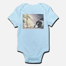 Peace on earth and goodwill t Infant Bodysuit