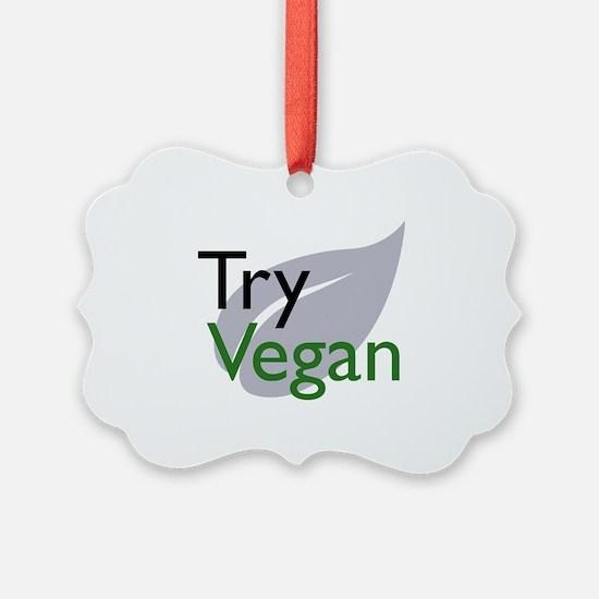 Cool Vegeterian Ornament