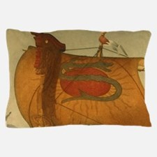 Viking Ship Pillow Case