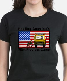 School Bus Precious Cargo Ash Grey T-Shirt