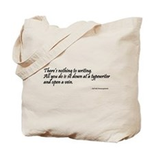 Writer Quote Tote Bag