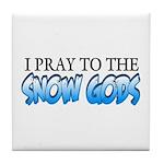 Snow Gods Tile Coaster
