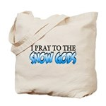 Snow Gods Tote Bag