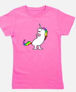 Cute Dinocorn (T-Rex Unicorn) T-Shirt
