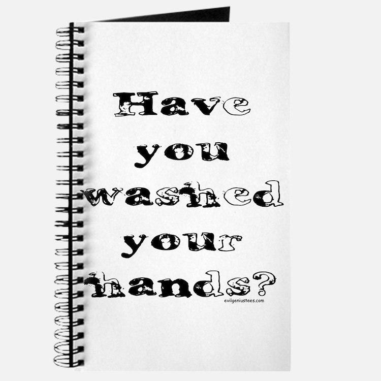 Cute Clean hands Journal
