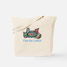 Pass the Latkes Tote Bag