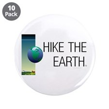 "TOP Hike the Earth 3.5"" Button (10 pack)"