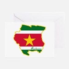 Cool Suriname Greeting Cards (Pk of 20)