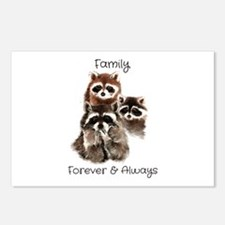 Family Forever Always Qu Postcards (Package of 8)