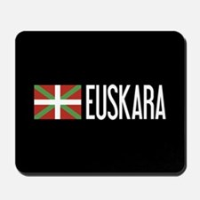 Basque Country: Basque Flag & Euskara Mousepad