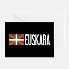 Basque Country: Basque Flag & Euskar Greeting Card