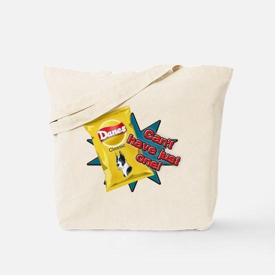 Cropped Mantle Dane VS Chips Tote Bag