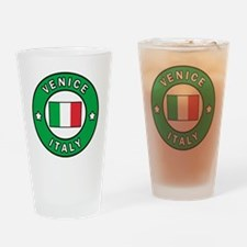 Unique Flag italian sicily pride Drinking Glass