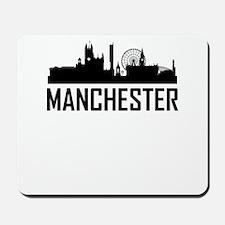 Skyline of Manchester England Mousepad