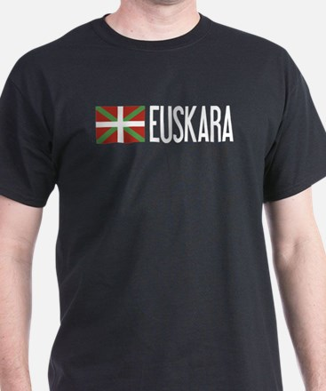 Basque Country: Basque Flag & Euskara T-Shirt