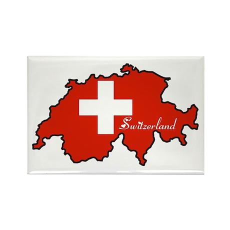 Cool Switzerland Rectangle Magnet