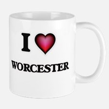 I love Worcester Massachusetts Mugs