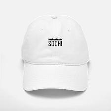 Skyline of Sochi Russia Baseball Baseball Baseball Cap