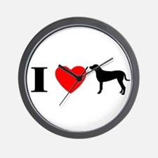 I Heart Greater Swiss Wall Clock