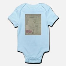Vintage Map of Southampton New York (187 Body Suit